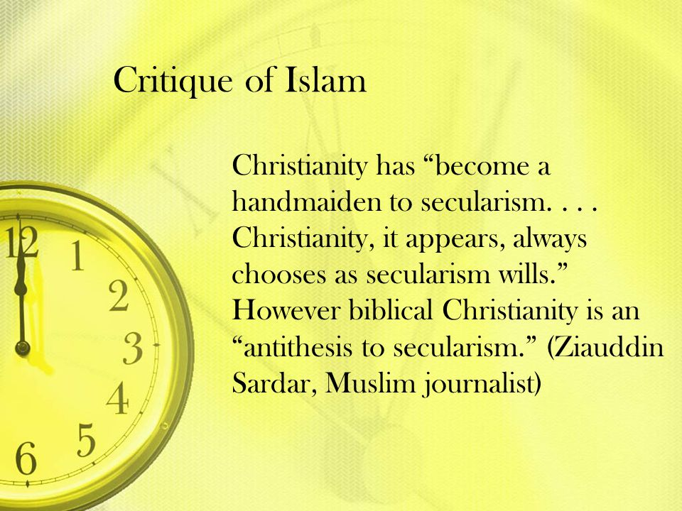Critique of Islam