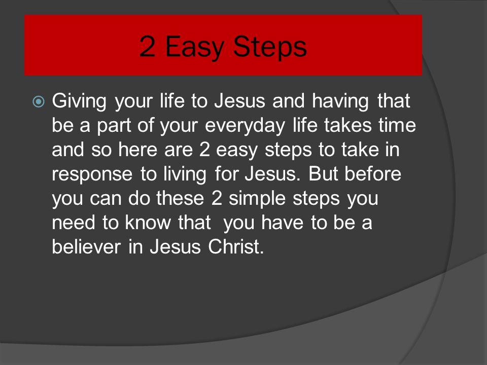 2 Easy Steps