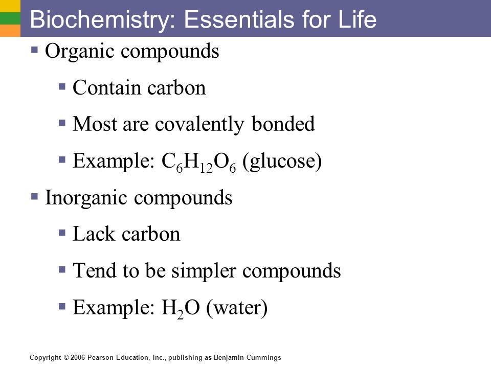 Biochemistry: Essentials for Life