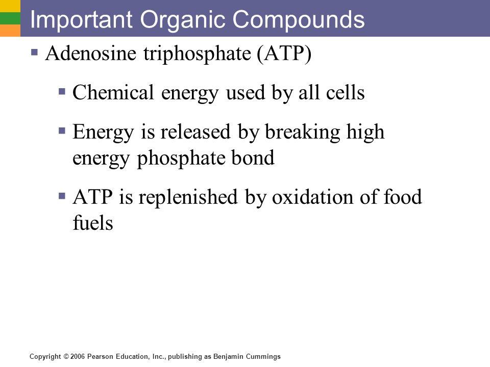 Important Organic Compounds