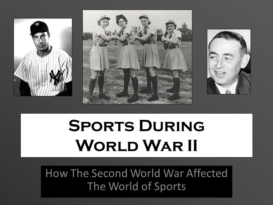 Sports During World War II