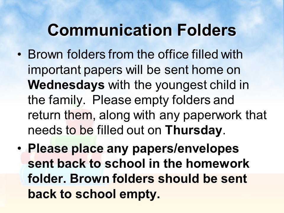 Communication Folders