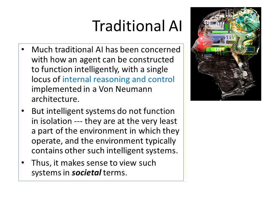 Traditional AI