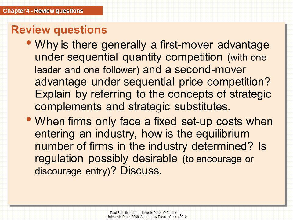 Chapter 4 - Review questions
