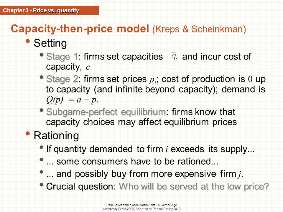 Chapter 3 - Price vs. quantity