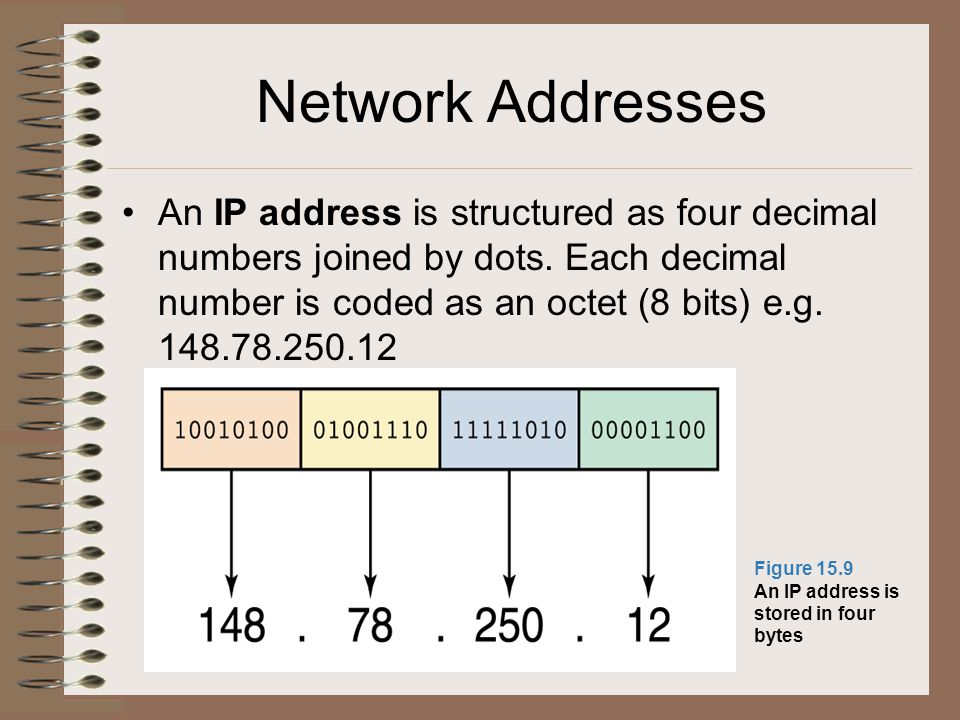 Network Addresses