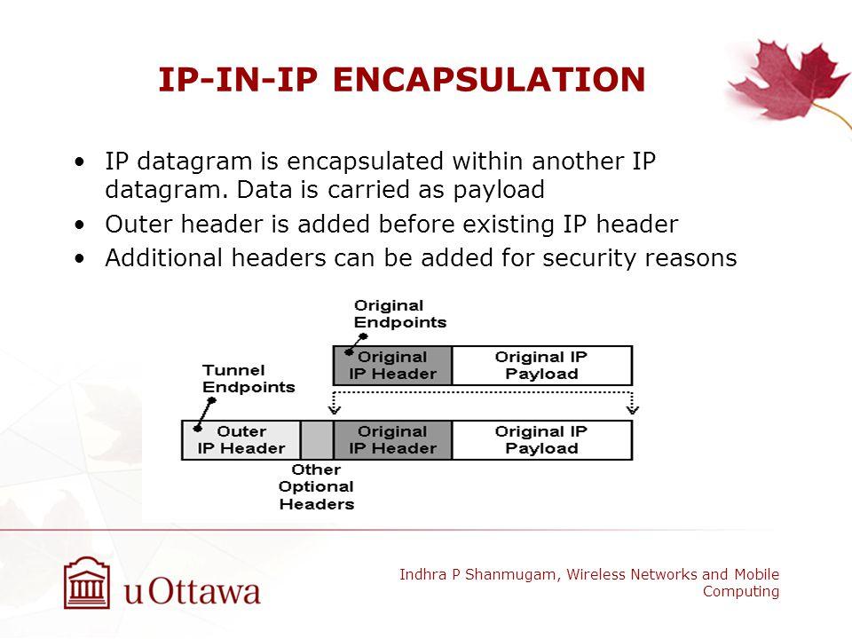 IP-IN-IP ENCAPSULATION