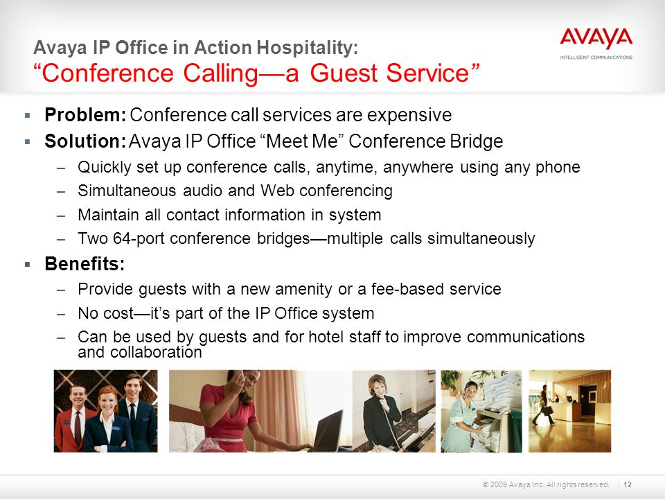 Problem: Conference call services are expensive