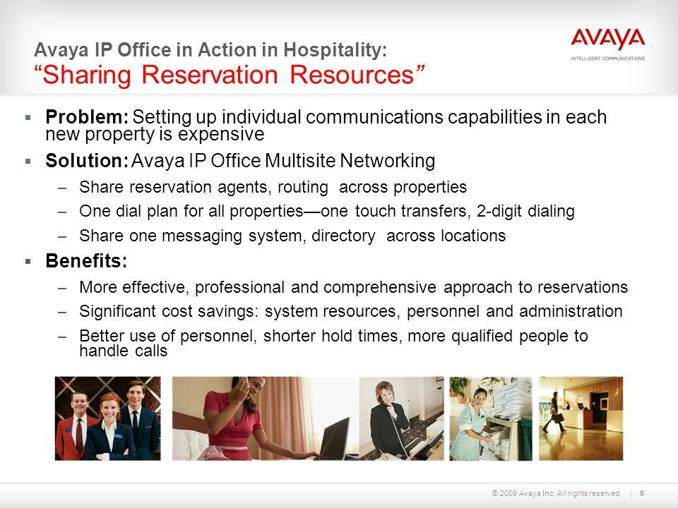 Solution: Avaya IP Office Multisite Networking
