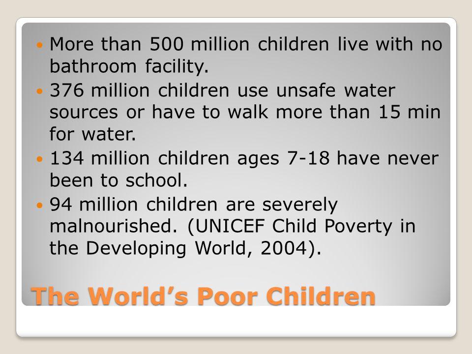 The World's Poor Children