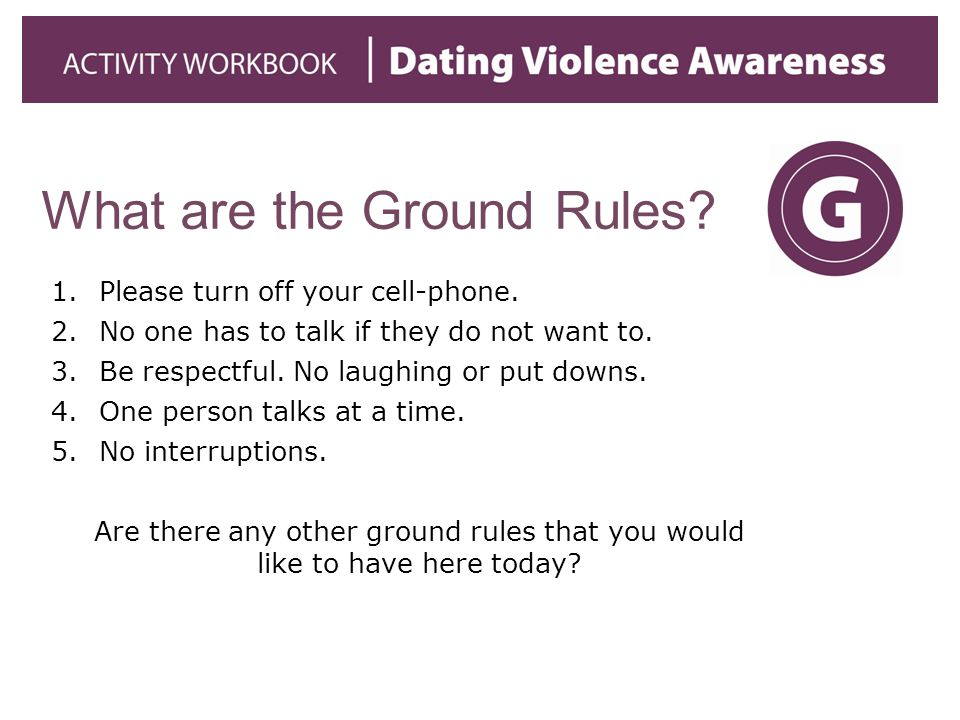 What are the Ground Rules