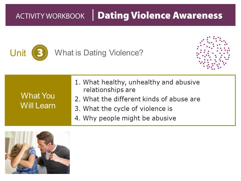 1. What healthy, unhealthy and abusive relationships are
