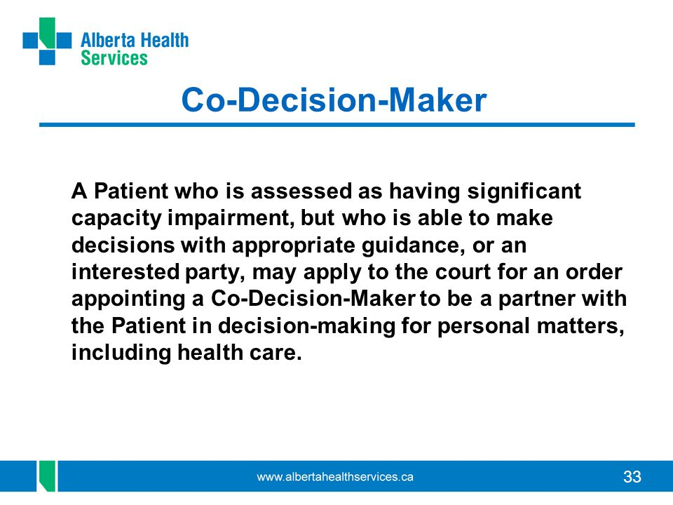 Co-Decision-Maker