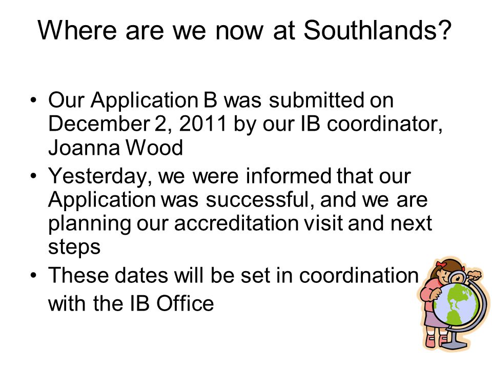 Where are we now at Southlands