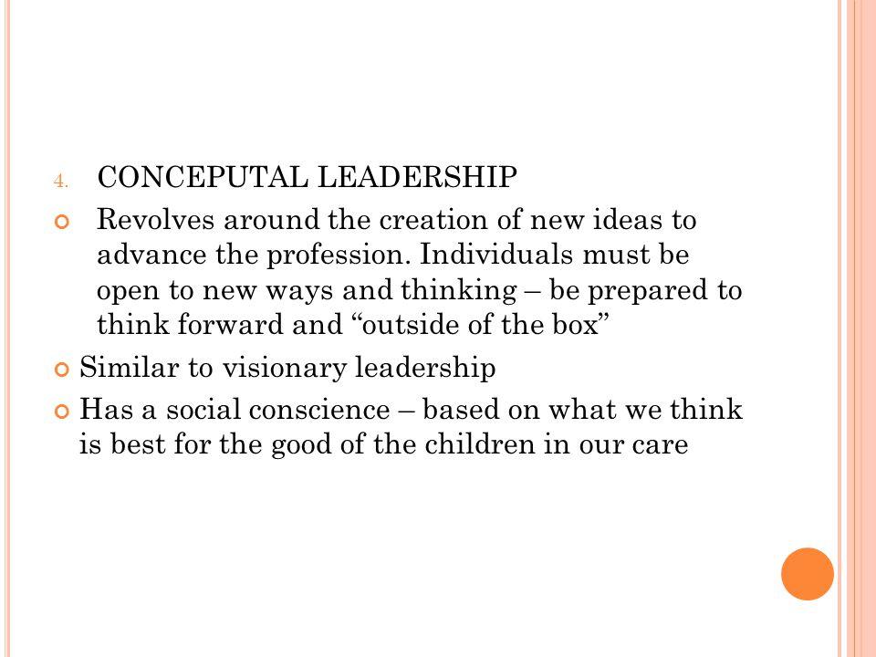 CONCEPUTAL LEADERSHIP