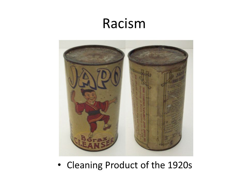 Racism Cleaning Product of the 1920s