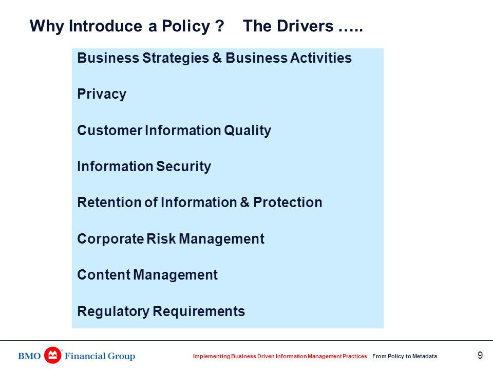 Corporate Information Management: The Principles