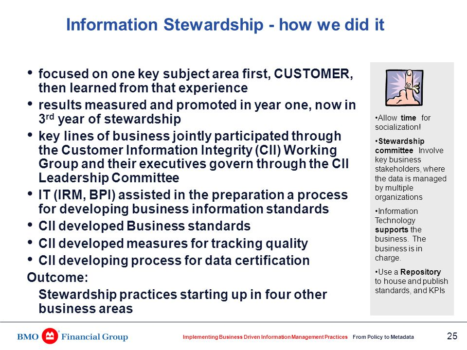 Business Information Standards