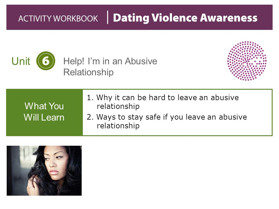 1. Why it can be hard to leave an abusive relationship