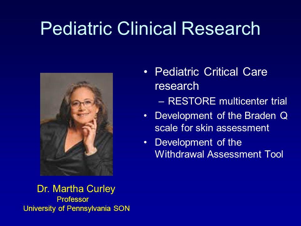 Pediatric Clinical Research