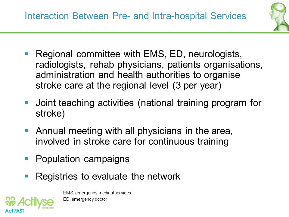 Interaction Between Pre- and Intra-hospital Services