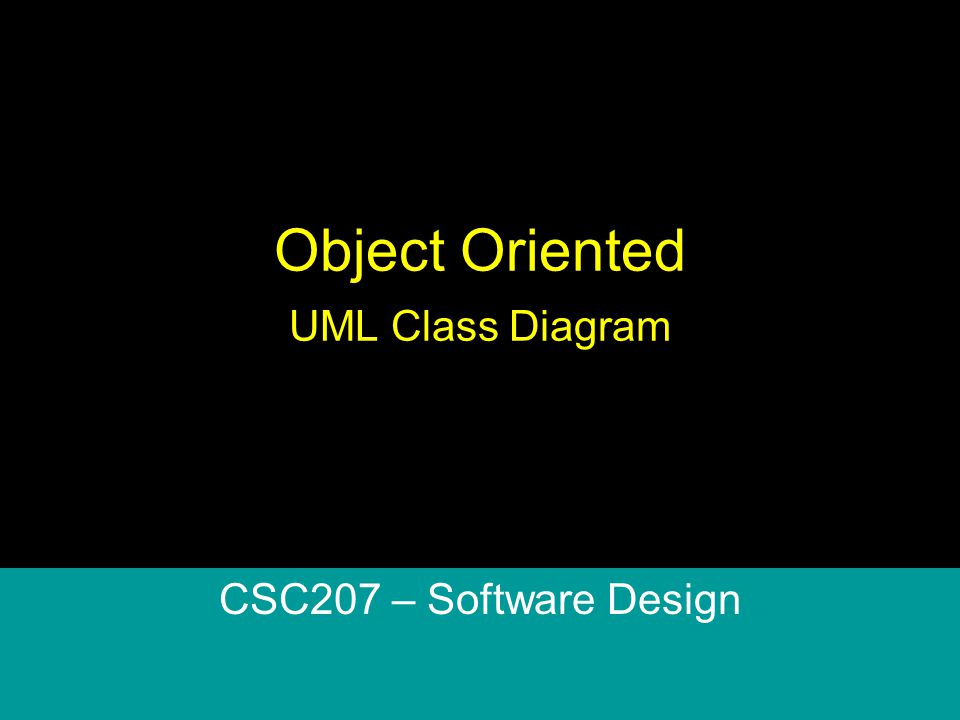 object oriented relationship diagram software