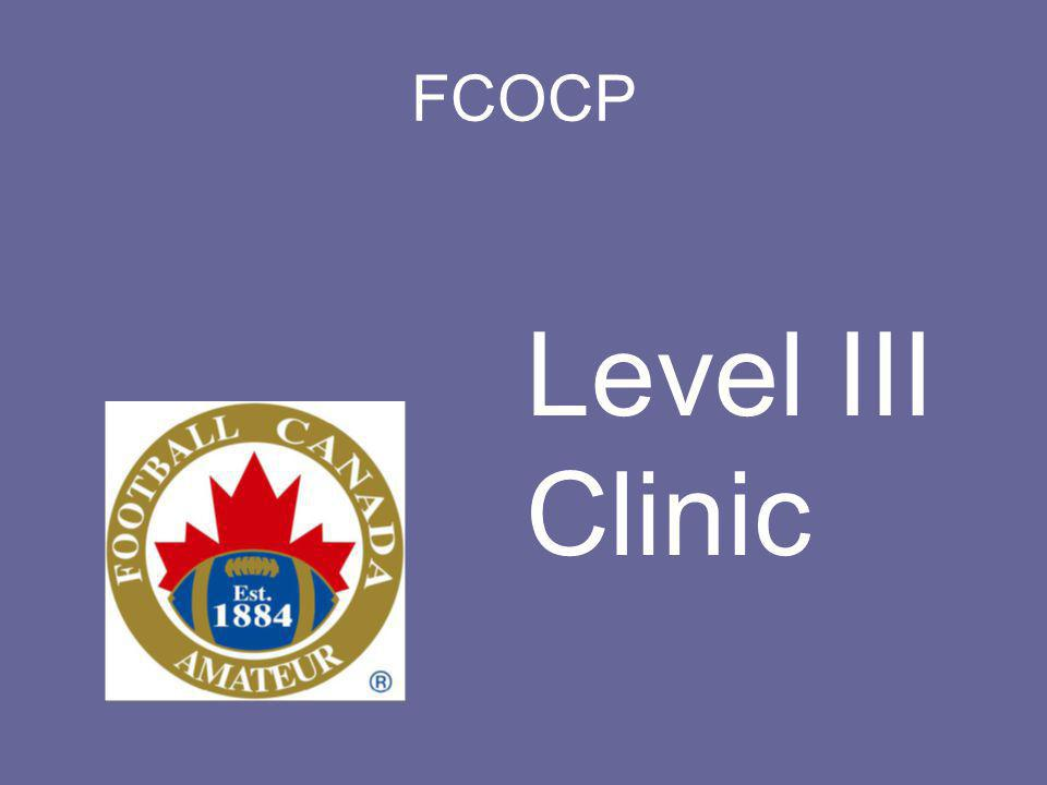 FCOCP Level III Clinic