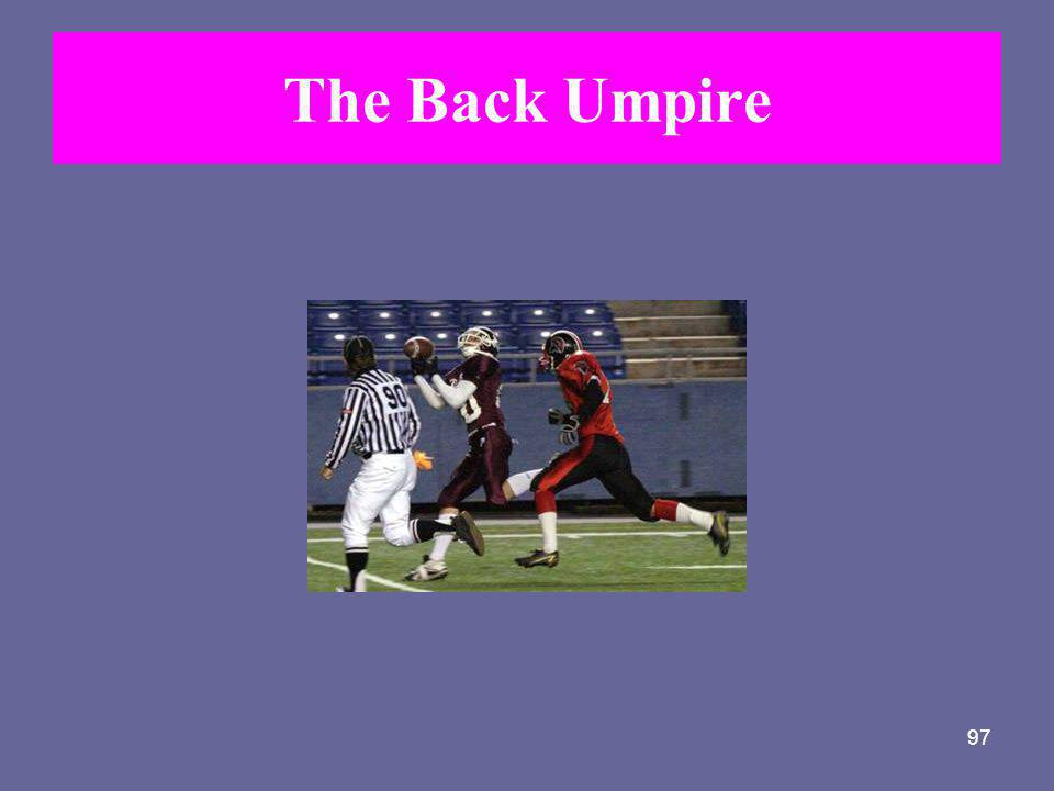 The Back Umpire