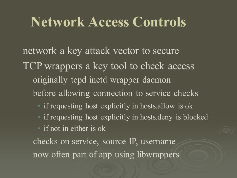 network a key attack vector to secure