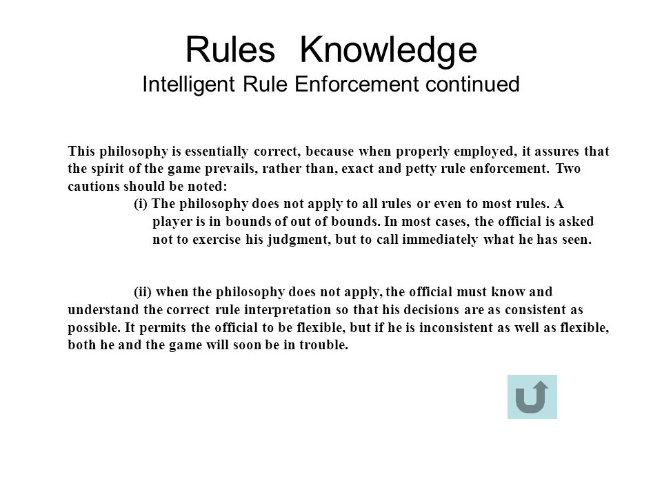 Rules Knowledge Intelligent Rule Enforcement continued