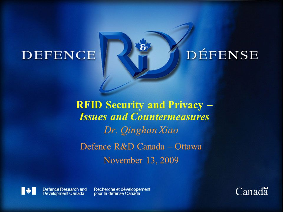 RFID Security and Privacy  Issues and Countermeasures