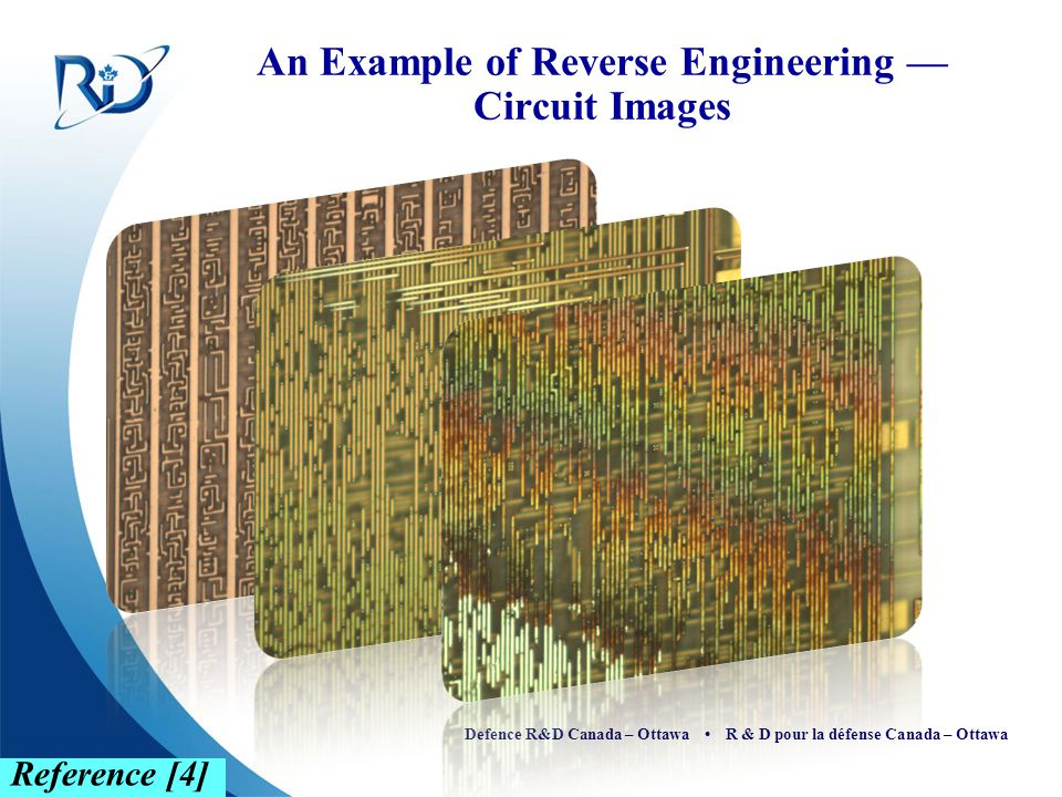 An Example of Reverse Engineering — Circuit Images