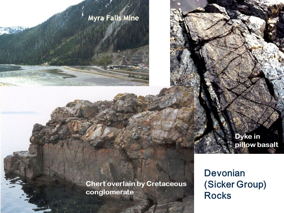Devonian (Sicker Group) Rocks