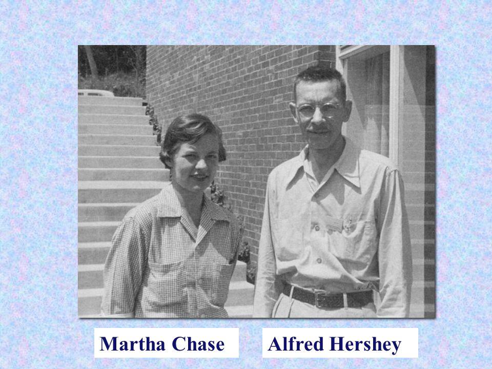 Martha Chase Alfred Hershey