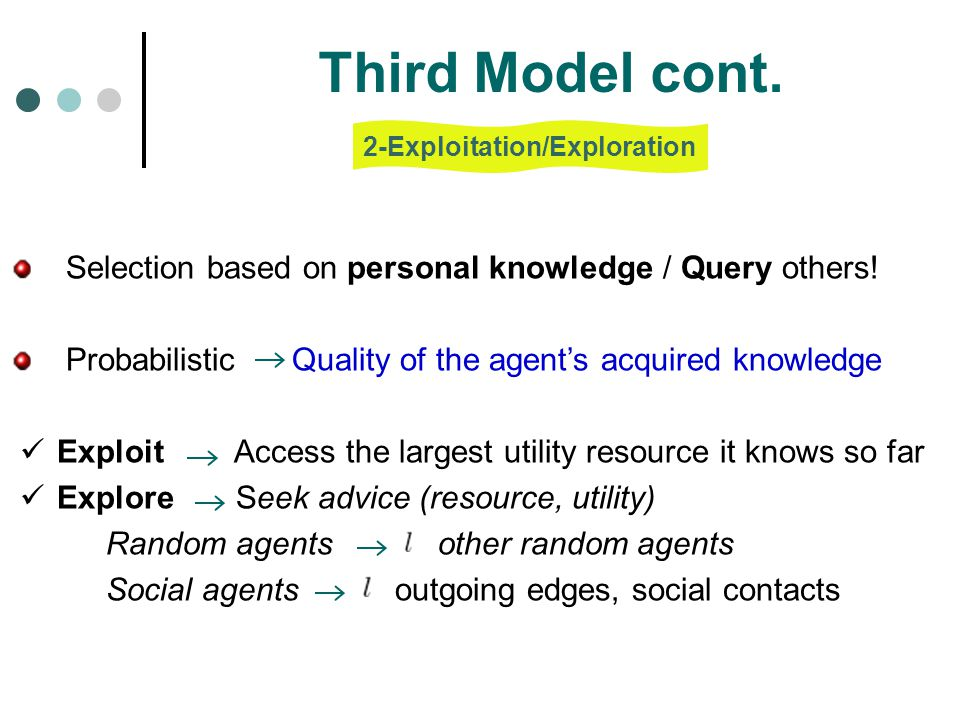 2-Exploitation/Exploration