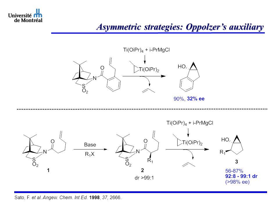 Asymmetric strategies: Oppolzer's auxiliary