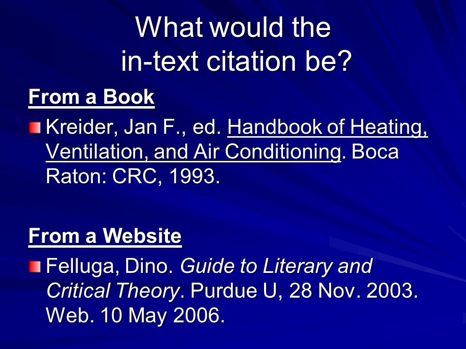 What would the in-text citation be