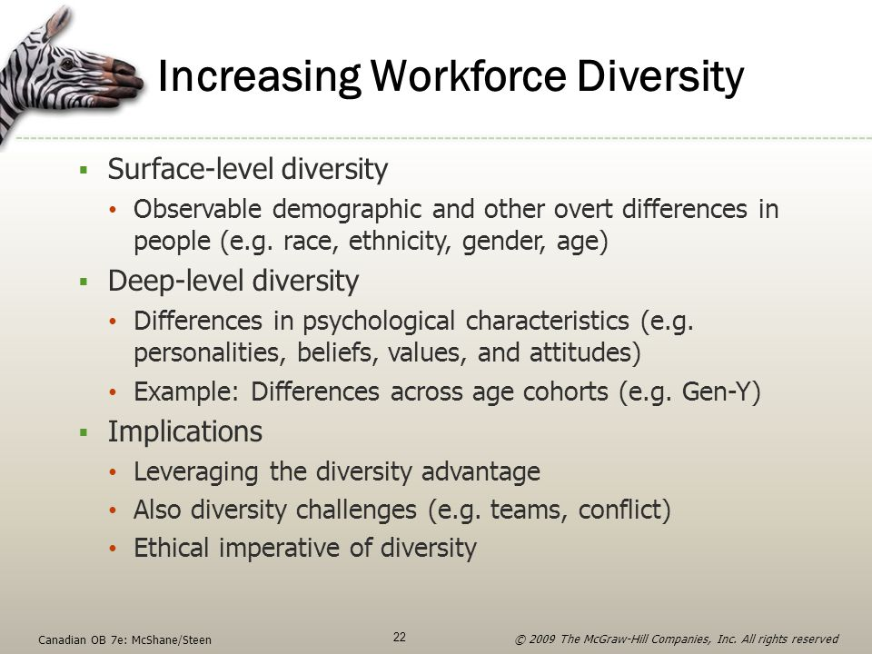 Increasing Workforce Diversity
