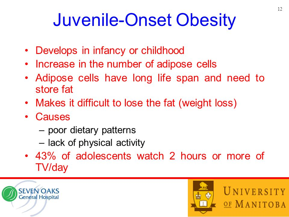 Juvenile-Onset Obesity