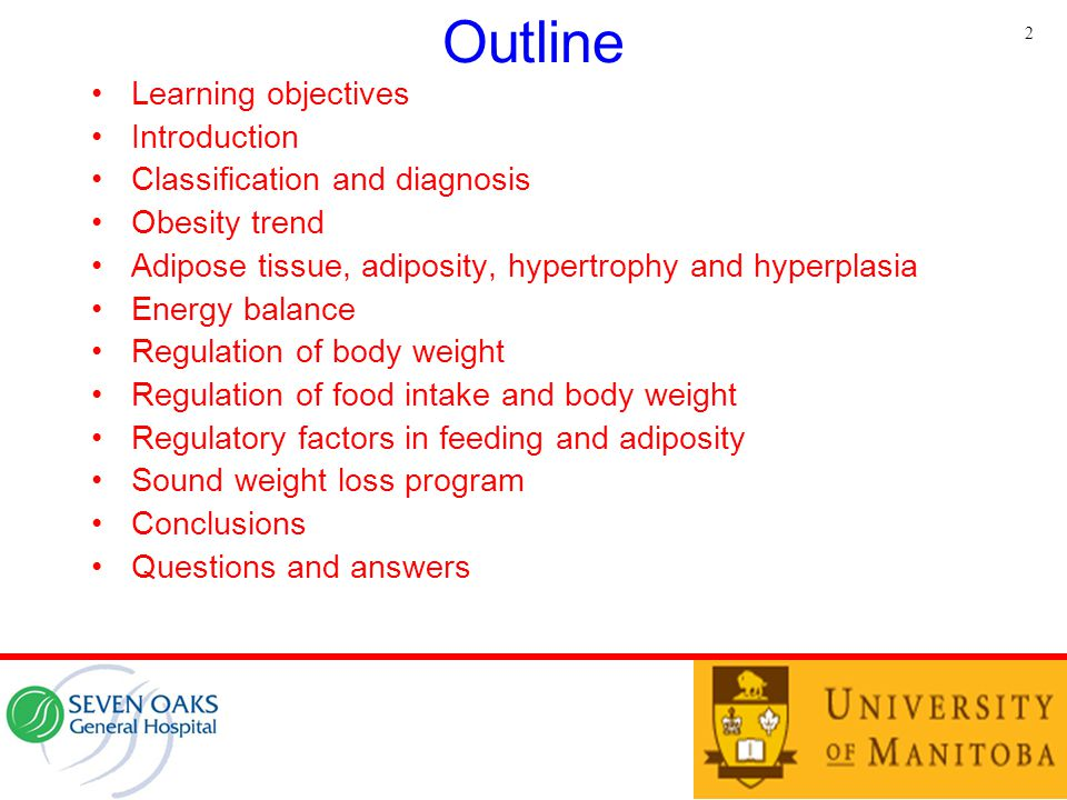 Outline Learning objectives Introduction Classification and diagnosis