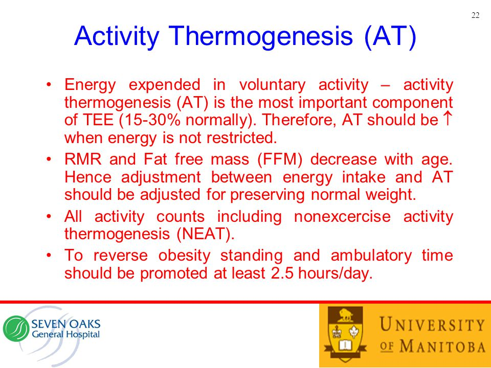 Activity Thermogenesis (AT)