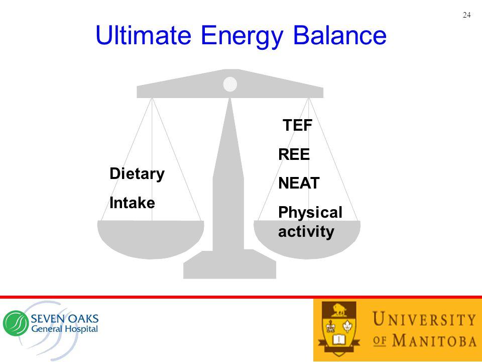 Ultimate Energy Balance