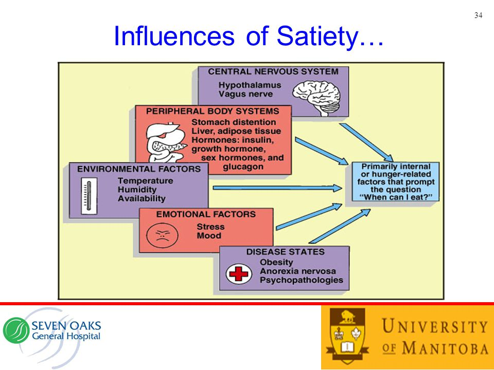 Influences of Satiety…