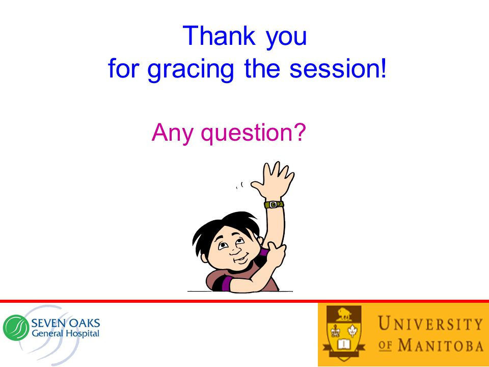 Thank you for gracing the session!