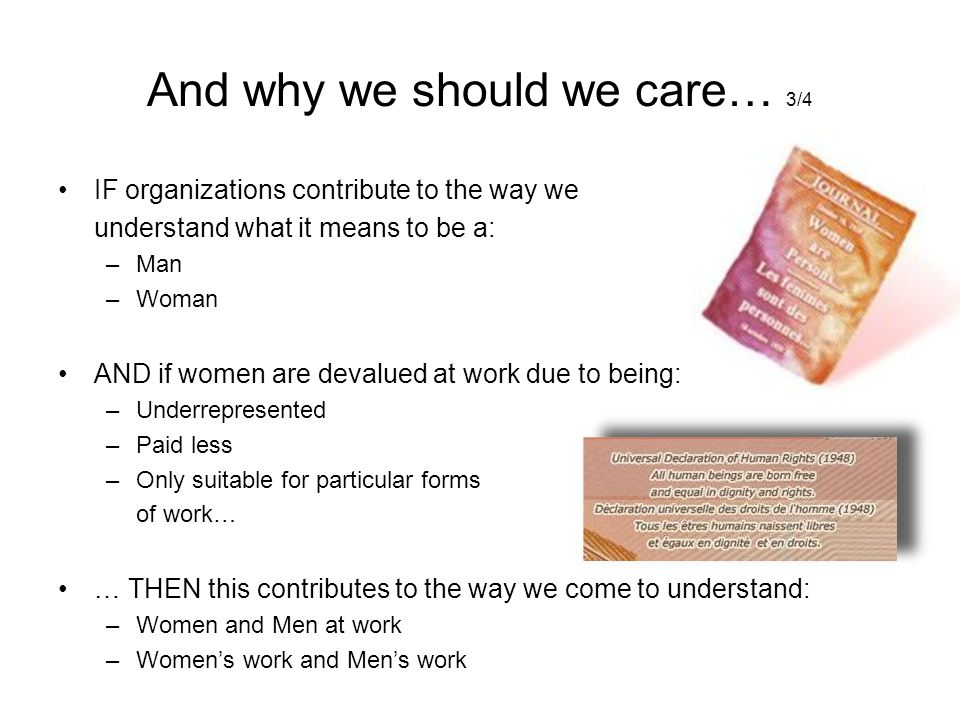 And why we should we care… 3/4