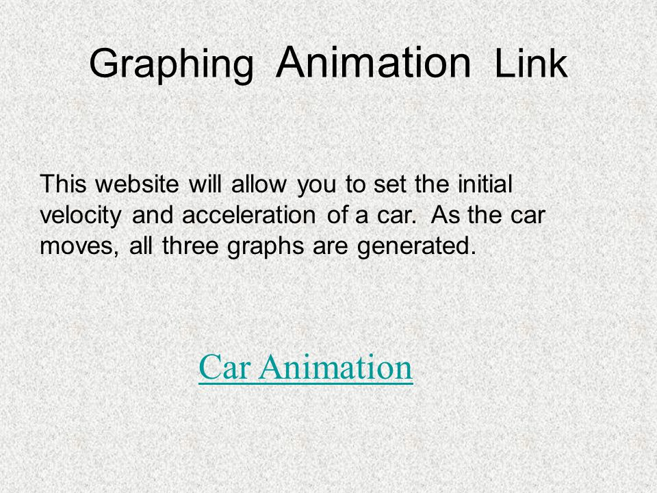 Graphing Animation Link
