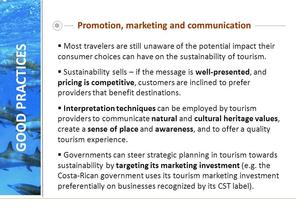 Promotion, marketing and communication