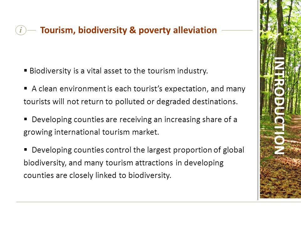 Tourism, biodiversity & poverty alleviation