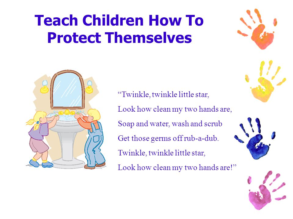 Teach Children How To Protect Themselves