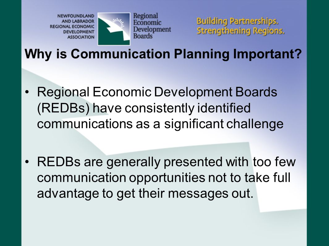 Why is Communication Planning Important